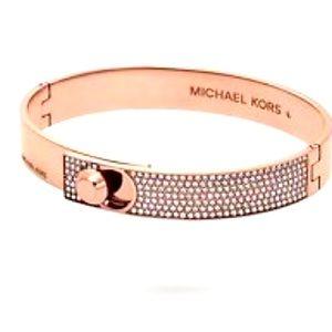 Brand new MICHAEL Kors rose gold bangle bracelet